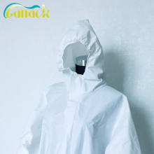 Medical Supply Disposable Protective Coverall Splash Antibacterial Bioprotection Isolation Suit