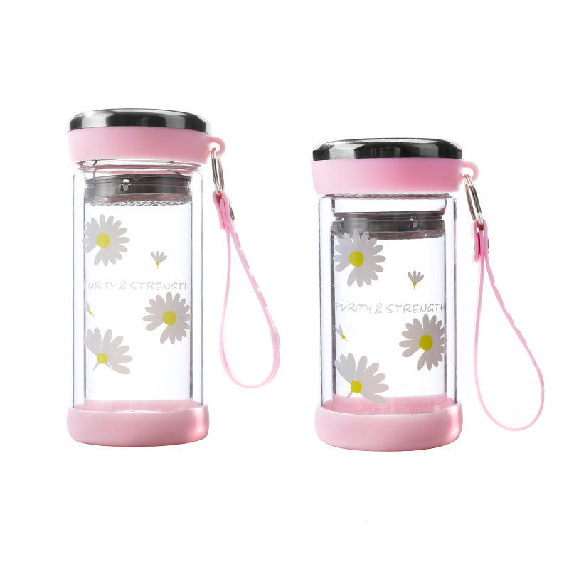 Pattern Kids Water Sport Bottle Stainless Steel Insulation Cup Children's Pots Baby Thermos