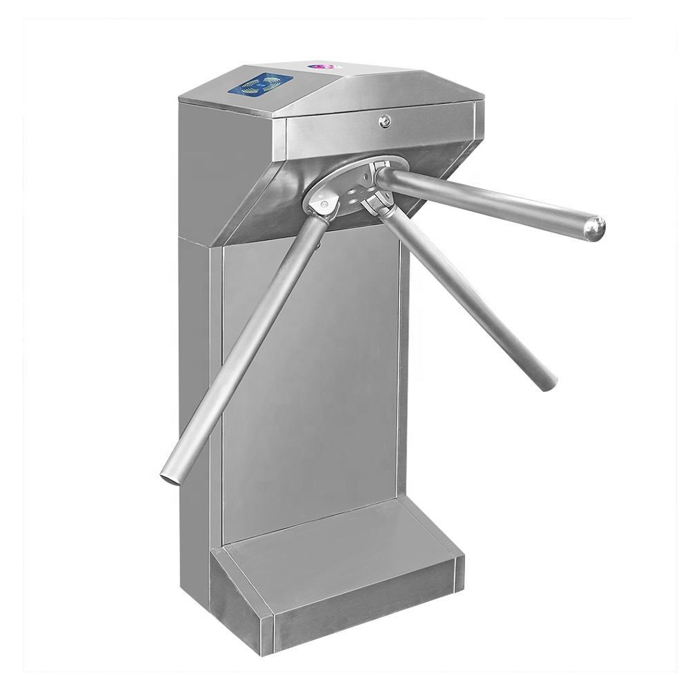 Factory price access control face recognition rfid qr code reader security entrance esd gate automatic tripod turnstile