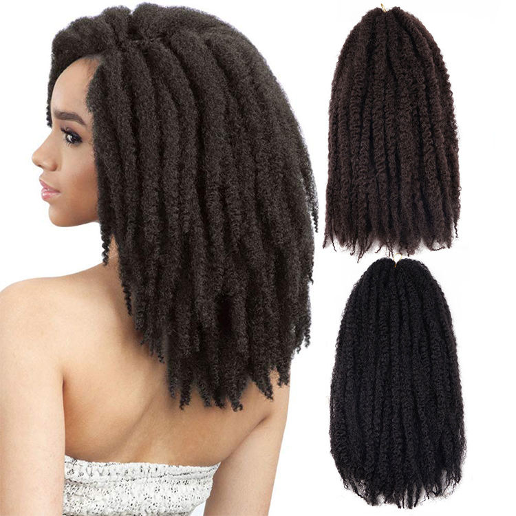 Ombre Marley Braids Hair Synthetic Braiding Hair Twist Crochet Twist Crochet Extensions Hair