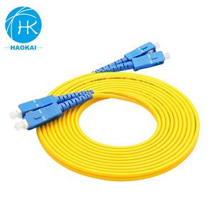 Sc/Upc Fiber Optic Pigtail Cable G657 Extrusion 2Mm Sc To Sc Patch Cord