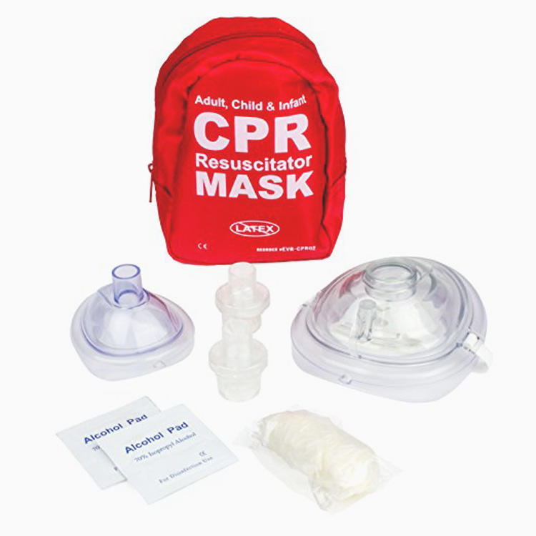 MM-CPR010 first aid kit cpr resuscitator mask adult and infant manufacture