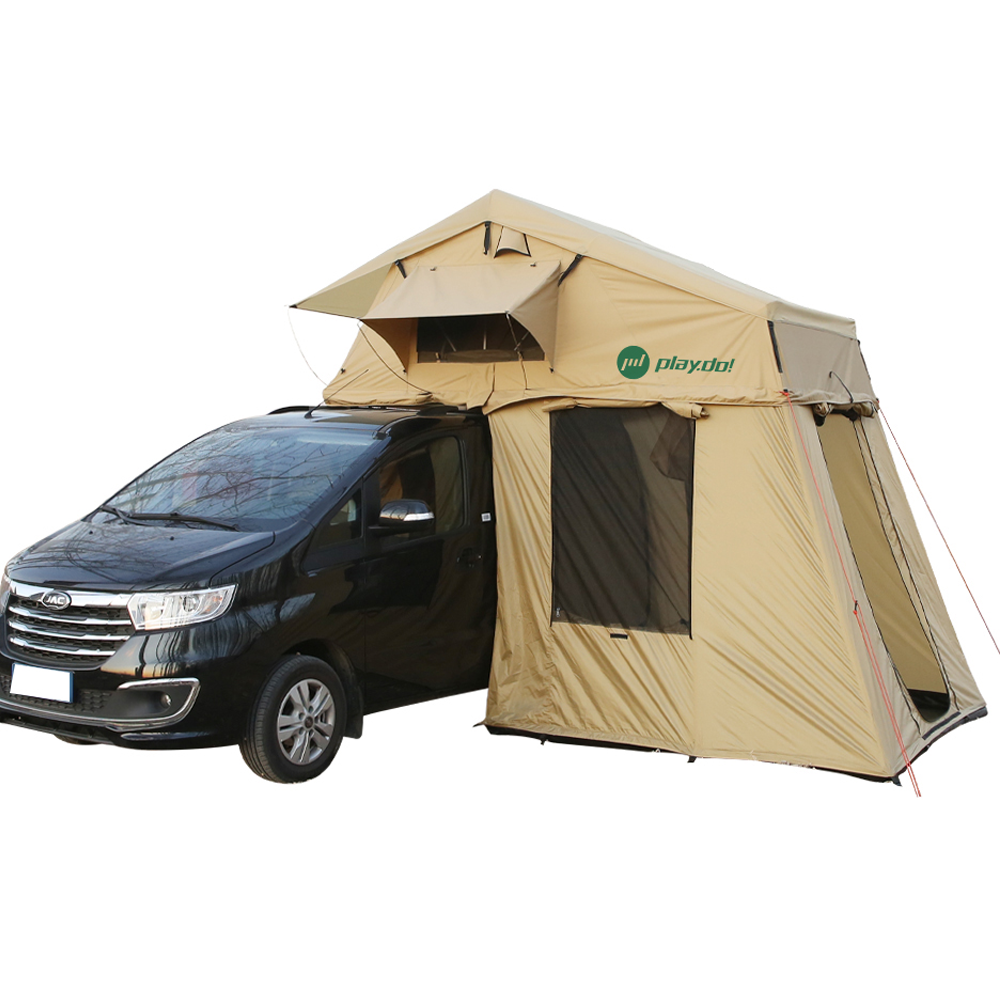 Best roof top tent vehicle side awning car trailer roof top tent 4 person tent