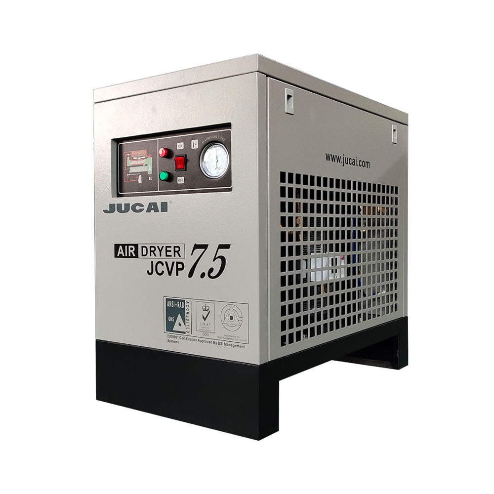 china suppliers 1.0CBM air cooled Refrigerated Compressed air dryer for rotary screw or piston air