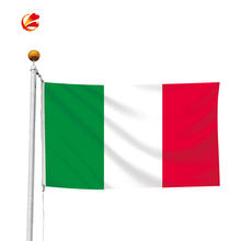 Wholesale 100% Polyester 3x5ft Italian Green White Red country italy national flag