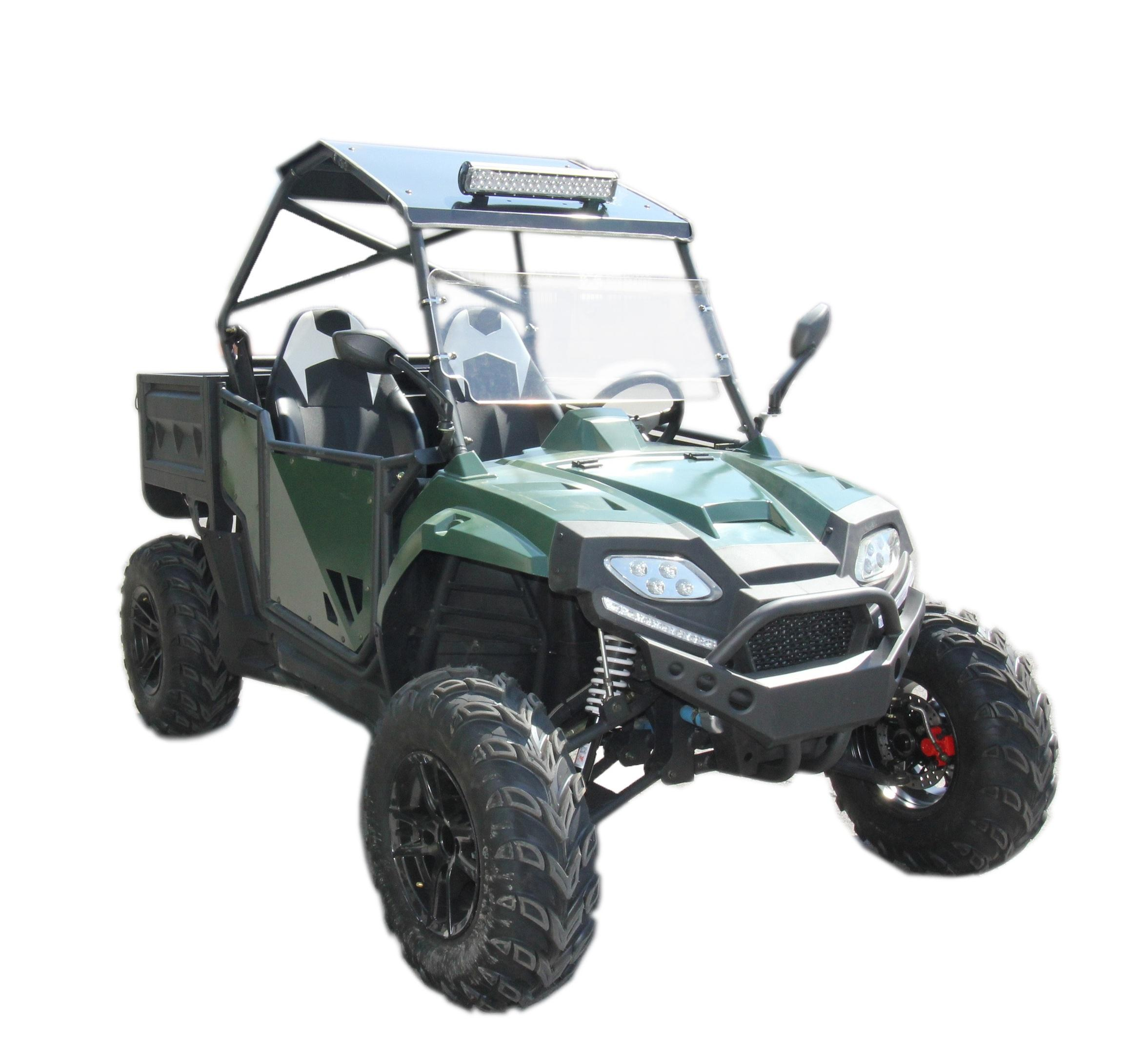 FANGPOWER all terrain vehicle adult utvs 400cc hunting buggy