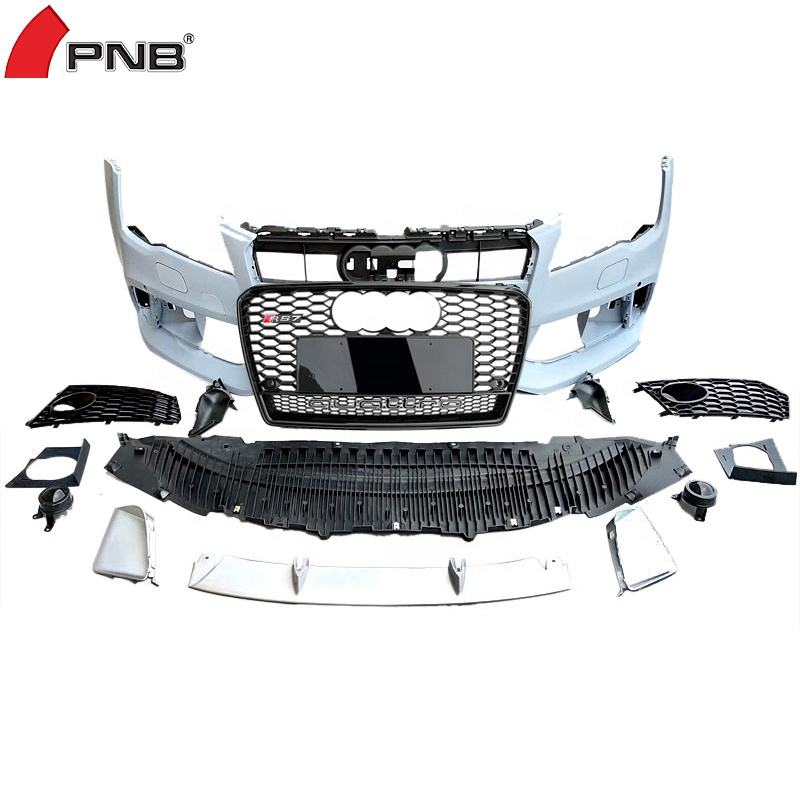 PP plastic front car bumper upgrade body kits for audi A7 S7 rs7 front bumper 2009 2010 2011 2012 2013 2014 2015