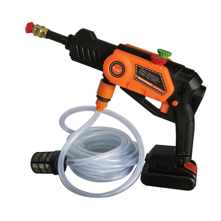 20V 2000mAh battery cordless battery operated high pressure washer