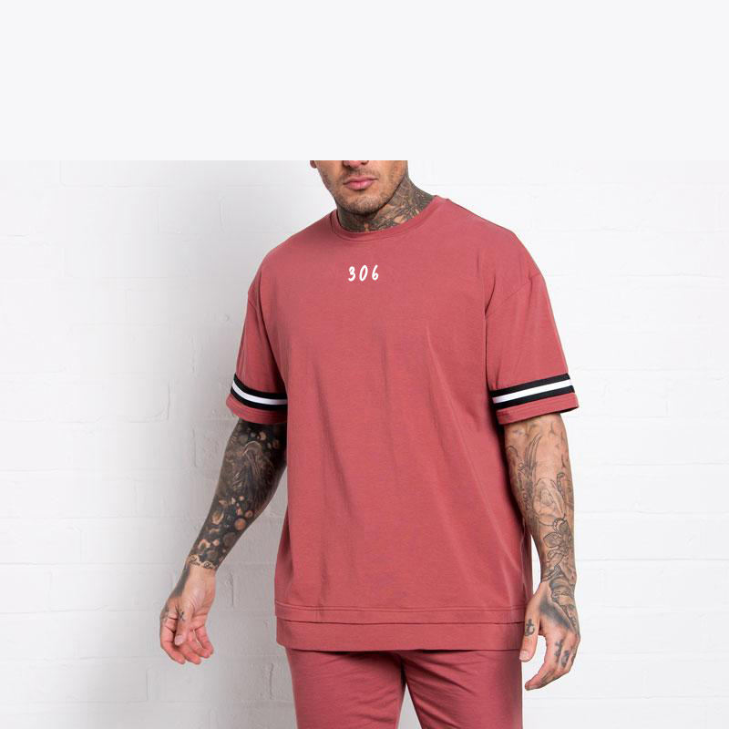 2020 New arrival boxy fit Relaxed oversized t shirt men clothing