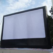 Best sell Customized outdoor large inflatable movie projection screen for sale