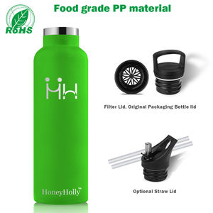 500ml 750ml custom logo insulation vacuum stainless steel drink water bottle
