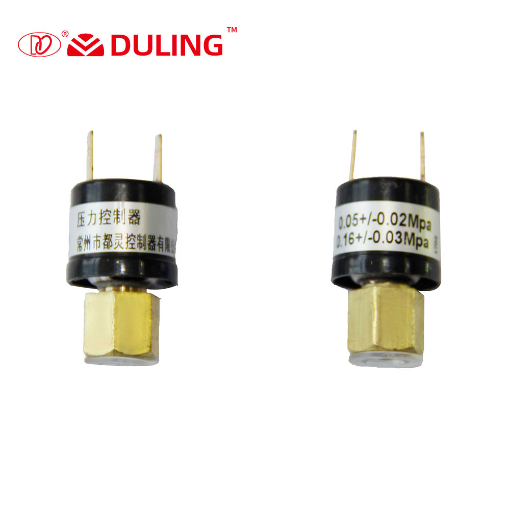High or Low Pressure Refrigeration Pressure Switch for HVAC Compressor