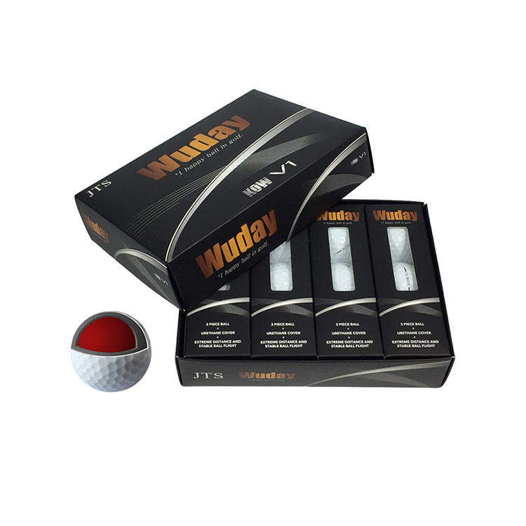 USGA standard 3pc layer Customized Soft Urethane Golf Ball