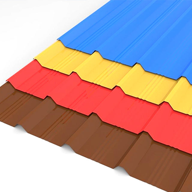 Supplier sheet metal roofing used