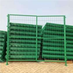Manufacture sold :PVC coated Wire Mesh Gate  Fence