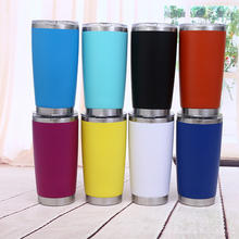 Wholesale Custom 20 oz ozark stainless steel vacuum insulated tumblers trail coffee thermos thermal cup with lid