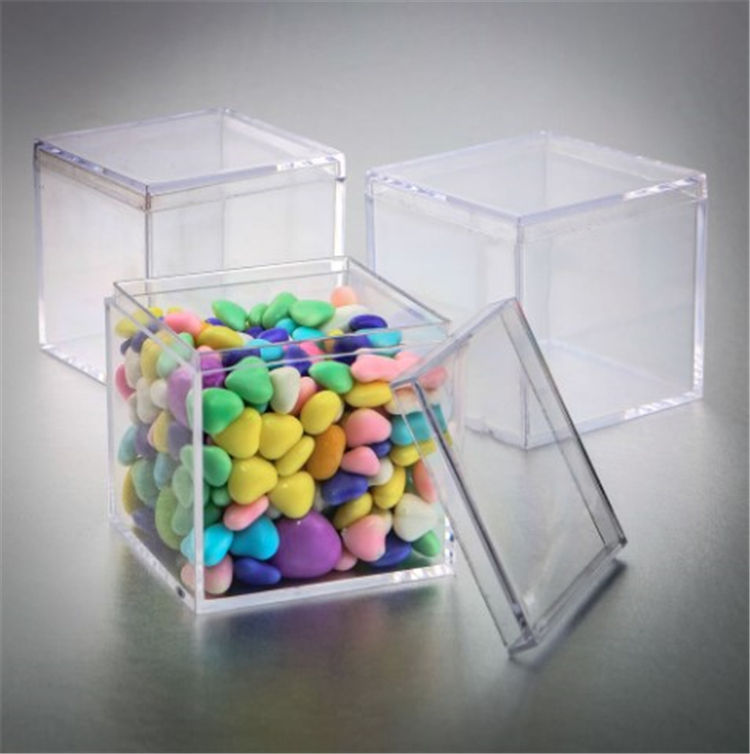 Beans collection perspex box transparent mini change acrylic versatile food container