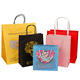 paper handle customized design shopping gift printed paper bag