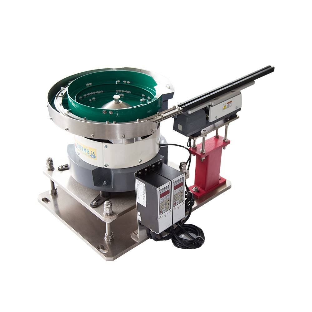 Industrial Electrical Vibratory bowl feeder with Packaging Machine