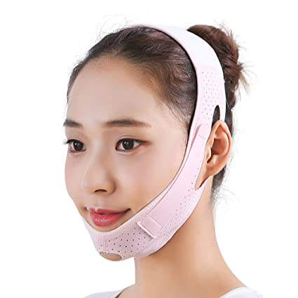 Slim V Shape Facial Lifting Belt Slimming Double Chin Strap Tightening Anti Wrinkle Face Slimming Band Ladies Face Lifting Belt