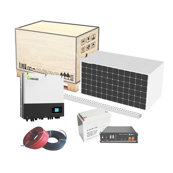 New technology commercial 1.5kw home solar power system tv for home