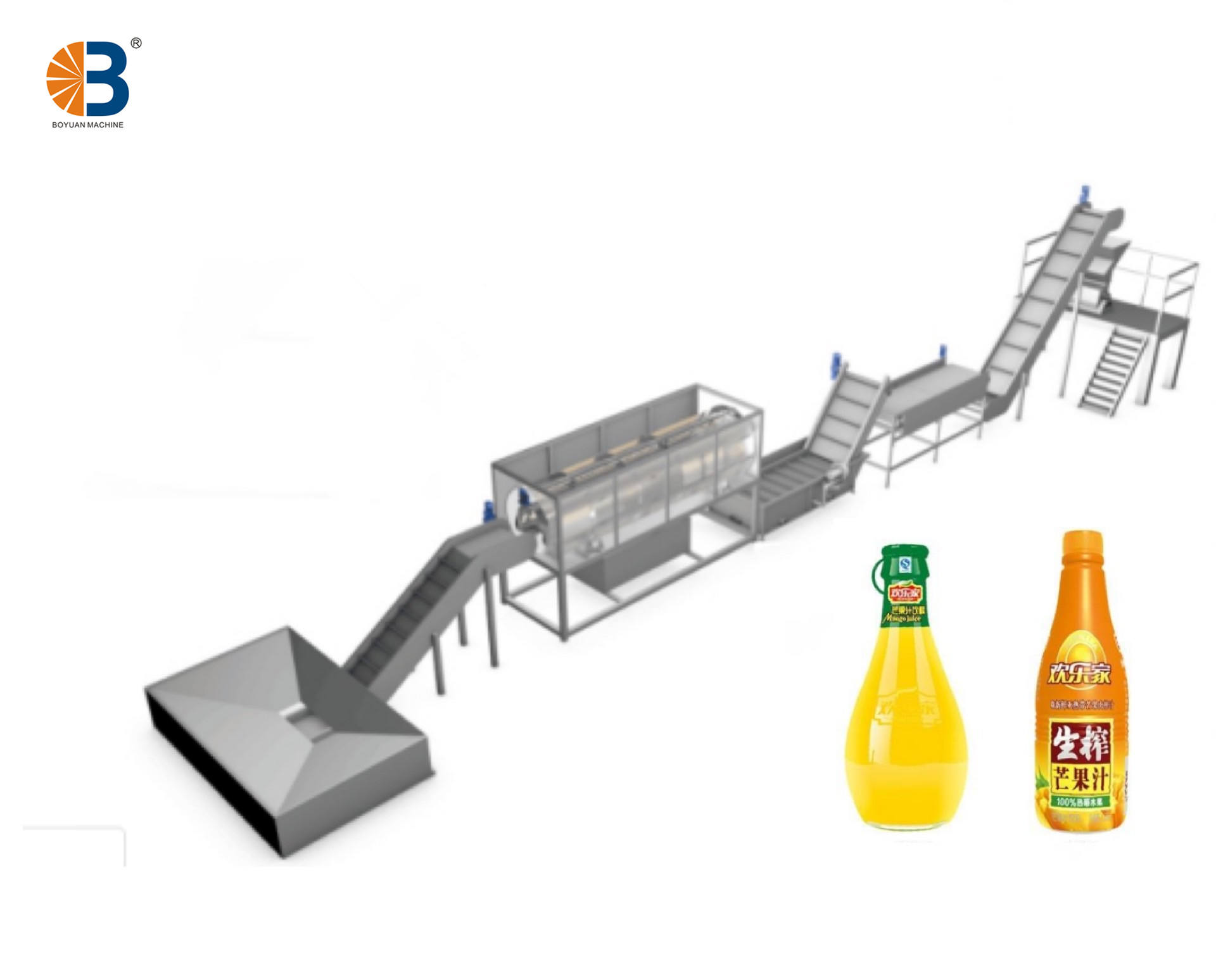 Concentrated Mango Juice Production Line
