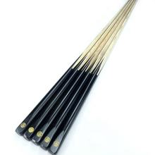 Factory cheap price one-pc ash wood training billiard snooker cue stick 57''