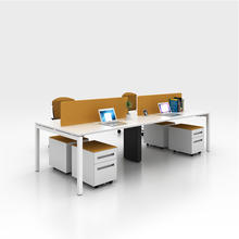 SLS Modern Style imported comfortable office desktop computer table 4 people office desk workstation