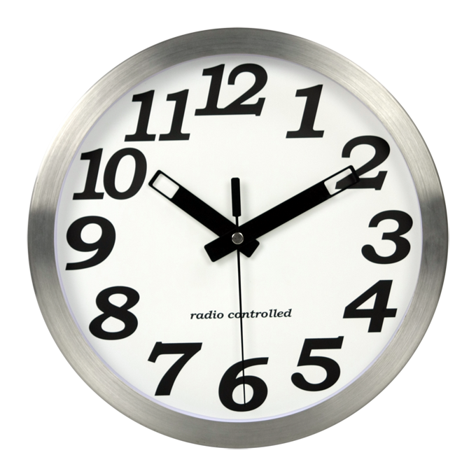 Living Room Uk Style High Quality Metal Home Wall Clocks