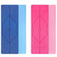 Health and Fitness 1/2-InchExtra Thick 183cm Long tpe Comfort Foam Yoga Mat for Exercise Yoga and Pilates