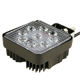 TUFF PLUS Wholesale led work light 27W square 2700lms high power flood led work lamp for trucks/ATV/UTV/offroad
