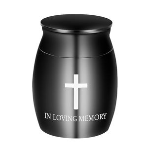 Metal Adult Cremation Urns Uk Wholesales New Small Merorial Keepsake For Human Ashes
