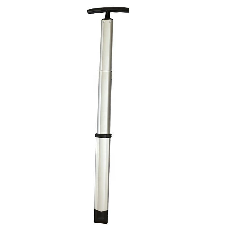 JX8038 Jingxiang aluminium pull telescopic system hard sided luggage plastic single trolley handle for suitcase