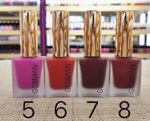 Nail Art Paint OEM/ODM multi color homemade custom design popular fashion matte candy color gel nail polish