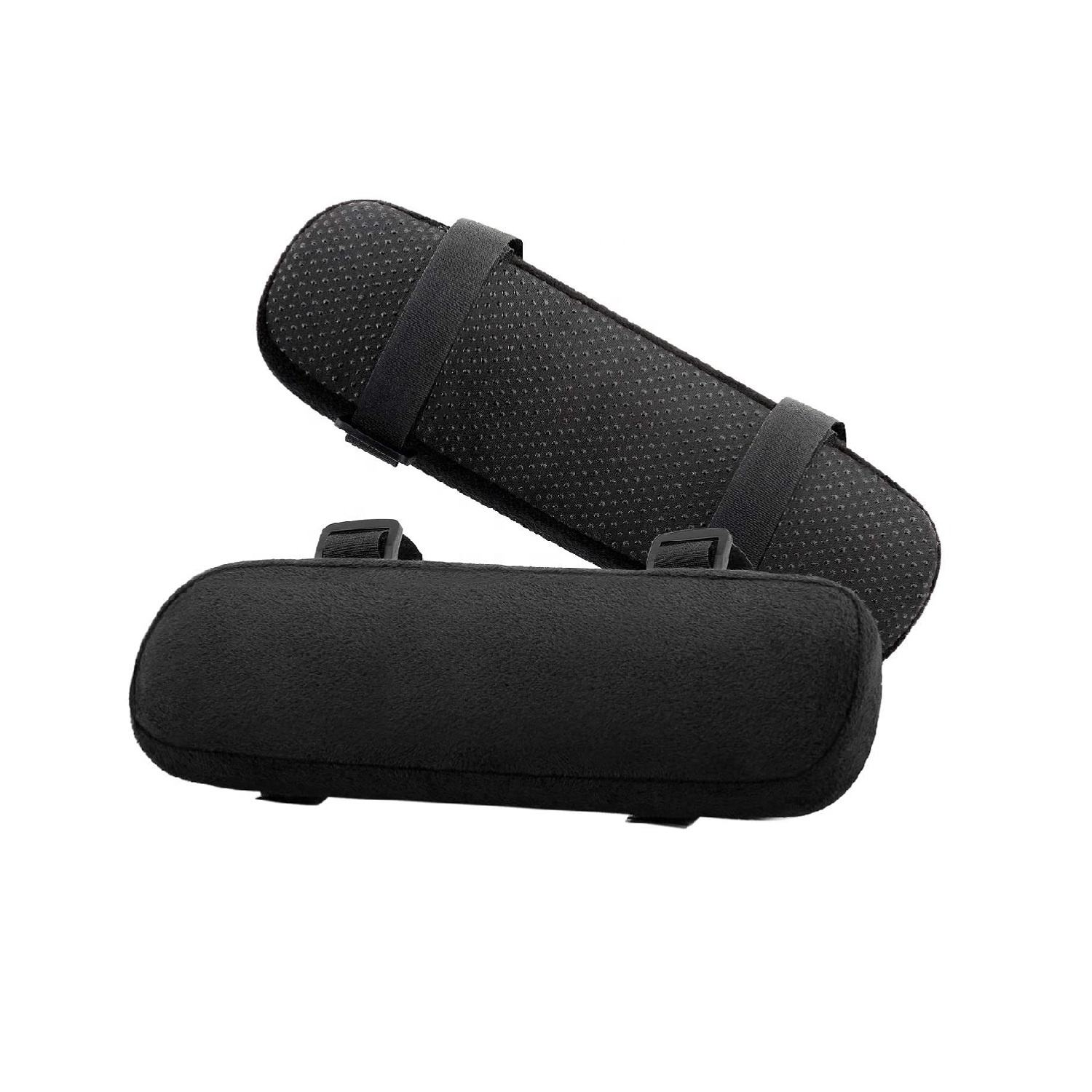 Universal [2-Pack] Ergonomic Memory Foam Chair Armrest Pad for Elbows and Forearms Pressure Relief