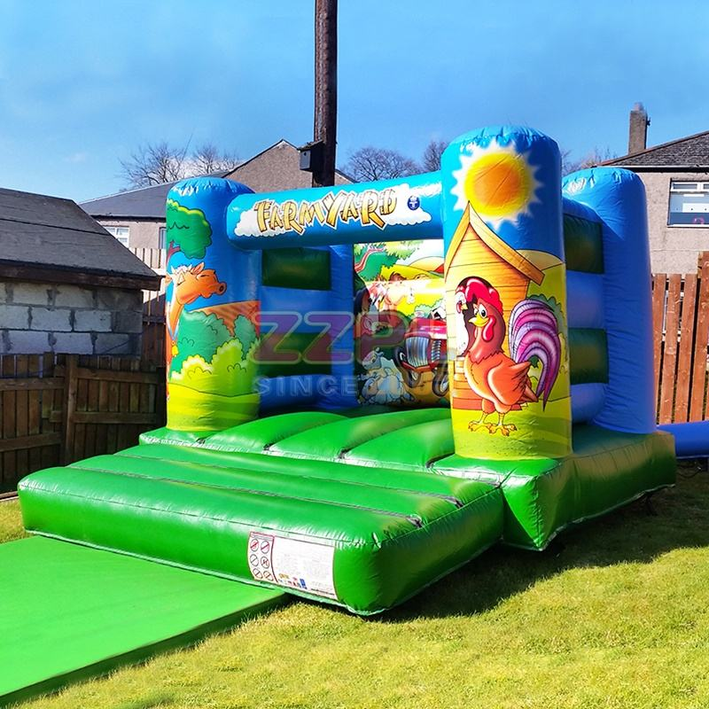 ZZPL Backyard inflatable Jumping Castle for Kids Indoor Mini Bouncy Castle for Sale