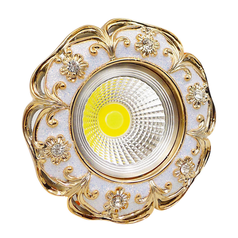 3W COB resin led downlight fashionable AC110V 220V with led indoor home lighting for bedroom,foyer led lamp