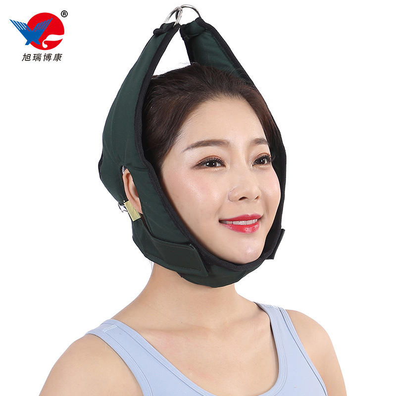 CE Approved Air Inflatable Cervical Neck Stretcher , Neck Fixation Cervical Traction Device