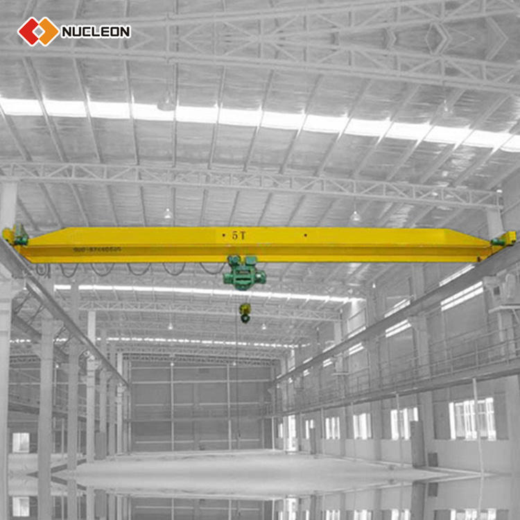 Industrial Use 2Ton Electric Single Beam Overhead Wheeled Crane Manufacturers
