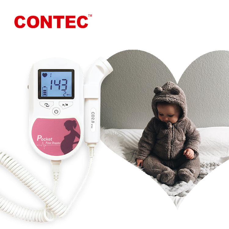 CONTEC doppler fetal pocket portable fetal doppler