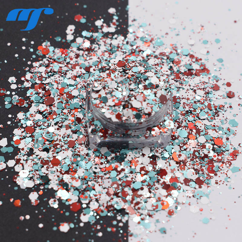 Glitter Powder for Crafts Valentines Decoration for Christmas New year gift craft Raw materials Glitter Powder