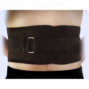 Nylon weightlifting squat belt lower back support sports safety