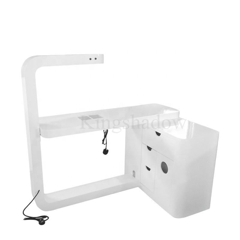 2020 new nails furniture LED nail tables manicure table for sale