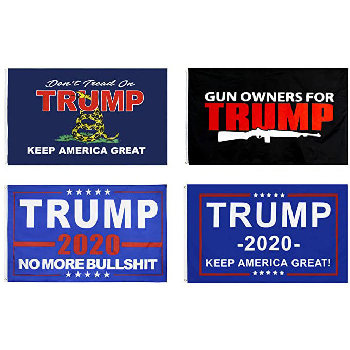 3x5 customize logo american wholesale trump Your Feelings banner usa national flag polyester 2020 custom printing