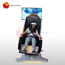 360 Degree Rotating Entertainment Equipment 9d Flight Simulator Arcade Machine For Mall