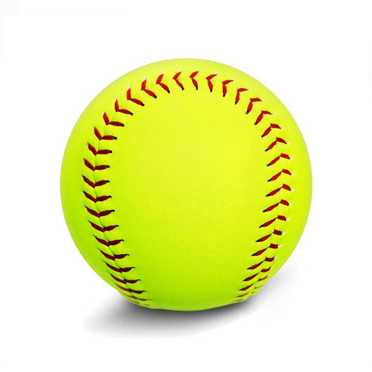 Team Sports Official Cheap Durable Leather Softball Baseball Ball