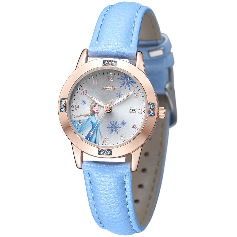 New Hot Disney Audited Frozen II Elsa Princess Kids Watches Disney Watch