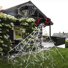 Outdoor Large Spider Web For Halloween Decoration