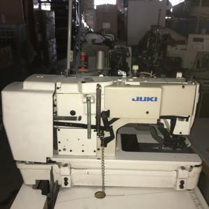 80% New Used juki781 Lockstitch Buttonholing Machine With Table
