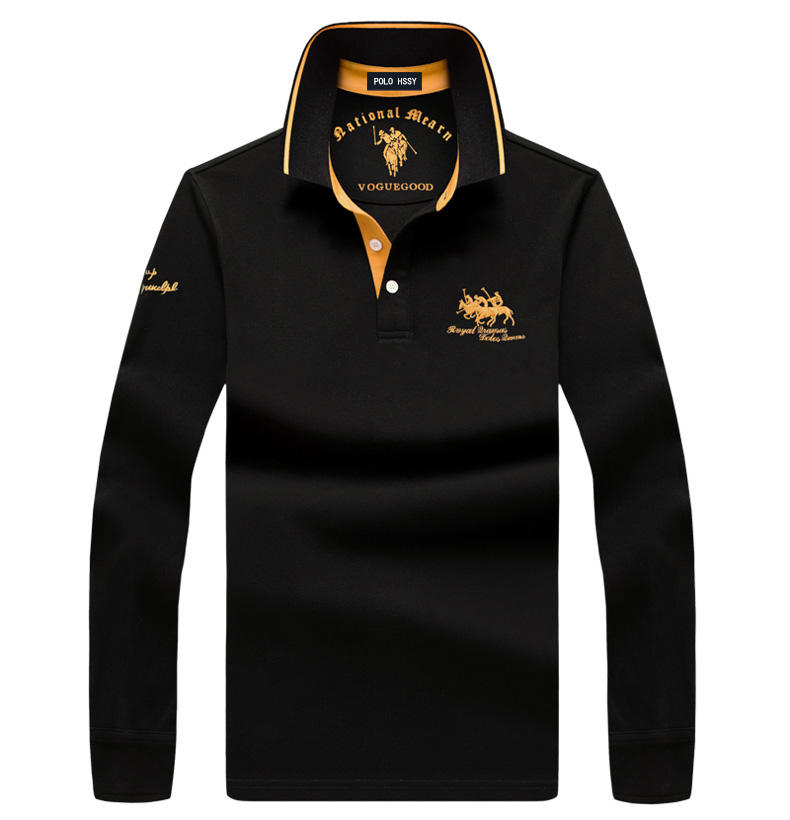 The good price and customized Men's polo shirt high quality polo shirt made for men